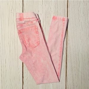 H&M Pink Jeggings Leggings Size 9 to 10 Years